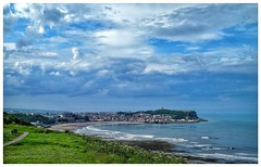Scarborough, South Bay (Develew) Tags: yorkshire northyorkshire scarborough southbay sea sand sun clouds cloudscapes sky skyscapes