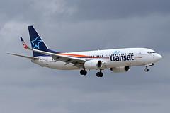 B737-8.OK-TSO-1 (Airliners) Tags: airtransat 737 b737 b7378 b737800 b737ng boeing boeing737 boeing737800 hybrid fll oktso 12018