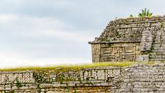 "Close up of ""House of the Nuns"", Chichen Itza (sharon.verkuilen) Tags: mexico yucatan chichenitza mayanruins houseofthenuns a7rii sony"