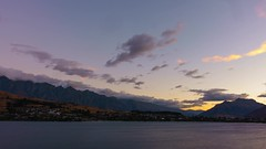 Queenstown Sunset 1 - 4k (Robert Brienza) Tags: queenstown timelapse video newzealand southisland nz landscape scenic travel travelphotography sky clouds sunset sonyrx100m3