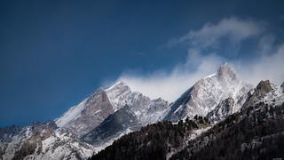 Peaks in clouds