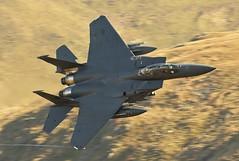 PYRO FLIGHT (Dafydd RJ Phillips) Tags: ln134 lakenheath afb air force base usaf united states usa america f15e f15 strike eagle mach loop snowdonia wales aviation military combat
