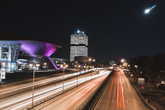 one.degree.photography.capture2017-119 (one.degree.photography) Tags: night nightphotography bmw urban architekture architecture angle hdr photo photograph pictureoftheday panorama panoramic persprective capture alpha exposure cityphotography urbanphotography travelphotography lighttails magenta red moon moonlight longexposure long munich city building buildings road street streetphotography blue black scenic scene nacht münchen sony sonyalpha a7 lowlight highway autobahn freeway cars car