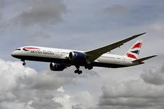 G-ZBKG (FabioZ2) Tags: londra boeing 7879 britishairways atterraggio