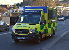 NK17OJF (Cobalt271) Tags: nk17ojf neas nhs was bodied mercedes sprinter 519 cdi emergency ambulance
