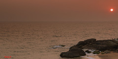 sunset  - Flickr Explored.. (Balaji Photography - 5 M views and Growing) Tags: sunset beach kanyakumari muttam dusk sky nature arabiansea india skyline sun colours tamilnadu sealine seascape travel canon70d nd filter ndfilter inexplore flickrexplored