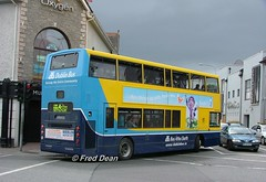 Dublin Bus AV262 (02D20262). (Fred Dean Jnr) Tags: waterfordtallshipsjuly2005 dublinbus alexander alx400 volvo b7tl av262 02d20262 manorstreetwaterford july2005 tallshipsparkride dublinbusyellowbluelivery sj02ahw