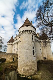 Monbazillac Castle : Dordogne : Périgord : France : Samyang 14 mm F2.8 : Nikon D4