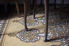 W poszukiwaniu straconego czasu (joanna.smieja) Tags: legs chairs furnitures carpet shadow floor indoor interior space patterns countless countlesslegs smieja joannasmieja wall room memories family nikon nikond90