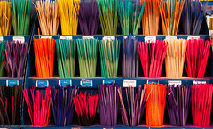 Perfumed Incense Spills (gwpics) Tags: stall commerce market multicoloured perfume southampton colourful english display england incense spills colorful hampshire hants multicolored wallart stockphotos