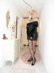 J36 (chantal_fouet) Tags: tv cd tg stockings nylon satin