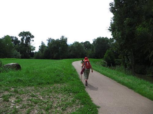 20140806 04 320 Jakobus Kanal Weg Bäume Pilger ElisabethB