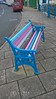 Eye catching Bench (vw4y) Tags: bench multicoloured stripes rainbow hobbspoint pembrokedock wales