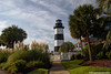LittleRiverLt+1_9782_fusw2 (nickp_63) Tags: north myrtle beach governors lighthouse little river south carolina sc sky clouds palmetto tree