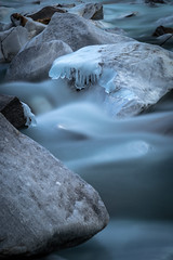 ice glaze 2 (michael.taferner) Tags: canon eos 6d 24105f4 water long exposure winter ice cold blue stones nature