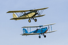 Parnall Elf and Spartan Arrow - 5 (NickJ 1972) Tags: shuttleworth collection oldwarden airshow 50th anniversary 2013 aviation spartan arrow gabwp parnall elf gaain