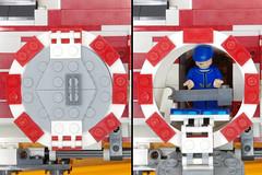 Airlock System (Evrant) Tags: star wars hammerhead corvette interior custom moc lego spaceship