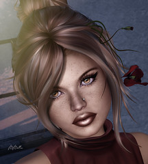 what did you say? (babibellic) Tags: secondlife sl aviglam avatar virtual portrait people blogger babigiobellic beauty deetalez