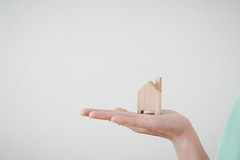 Woman hand show small wood house model (silaaa) Tags: abstract accommodation agent application architecture banking building business construction contract cottage dream economy estate family finance financial fund grow hand home house human immovable insurance investment life living loan make money mortgage offer ownership personal plan private project property real rent residential sale save show symbol ilobsterit