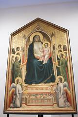 Ognissanti Madonna by Giotto - Uffizi - Florence (rfzappala) Tags: europe europa italy italia tuscany toscana 2016 florence firenze uffizi gallery museum gothic painting giotto ognissanti madonna