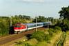 16 uháňa do Prahy (Nikis182) Tags: 350016 zssk podivín nikis182 škoda electric locomotive railroad railway czech republic train
