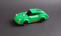 Lego Porsche 911 by Singer - 01 (Jonathan Ẹlliott) Tags: porsche 911 singer porsche911 lego moc legomoc speedchampions singer911