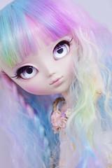 Pastel explosion! (solarsenshi) Tags: pullip byul dal jun planning groove custom doll bjd ooak mocha gray yeolume