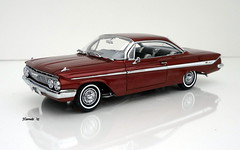 1961 Chevrolet Impala SS 409 Hardtop Sport Coupe (JCarnutz) Tags: 124scale diecast wcpd 1961 chevrolet impalass