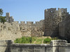 The Ancient Walls of Rhodes Town (big_jeff_leo) Tags: castle greece greek knight old stone walls ancient fortress medieval island harbour rustic