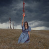 Marked Wound // Herida marcada (Kathy Chareun) Tags: art arte fineart fineartphotography dress vestido chest ajedrez herida wound blood sangre blue azul landscape paisaje retrato selfportrait autoretrato autorretrato surreal surrealism surrealismo surrealistic surrealsita surrealista ps photoshop lr lightroom woman mujer femme girl sky cielo clouds nubes