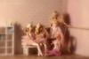 rehearsal break (photos4dreams) Tags: dress barbie mattel doll toy photos4dreams p4d photos4dreamz barbies girl play fashion fashionistas outfit kleider mode puppenstube tabletopphotography bilitis hamilton soft focus ballett ballet dancer dancers tänzerinnen tänzerin ballerina degas bokeh softlens romantic wishes sexy scenes