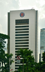 Wisma Indocement (Ya, saya inBaliTimur (leaving)) Tags: jakarta building gedung architecture arsitektur office kantor