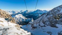 Fast climb (Nicola Pezzoli) Tags: dolomiti dolomites unesco winter snow alto adige italy bolzano mountain nature december marmolada lift top funivia