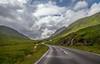 Winding road (dorinser) Tags: scotland scottishhighlands highland a861 hills green road windingroad inversanda