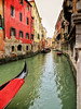Follow the gondola. (Amol Gawai) Tags: ifttt 500px old town canal waterfront gondola colourful waterway boating sightseeing gondolier city break