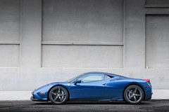 Gorgeous spec (nyccars) Tags: automotive exotic cars racing blue speciale 458 ferrari