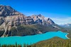 Peyto Lake (Georgi Marinov) Tags: alberta canada nature landscapes bowlake peytolake waterfowllake canadianrockies canoneosm3 canonefm1122mm