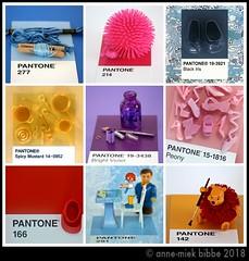 9x PANTONE 8 (Anne-Miek Bibbe) Tags: pantone kleuren colors farben colori colores cores annemiekbibbe bibbe nederland 2018 collage