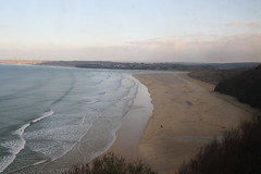 Near Hayle, Cornwall (Paul Emma) Tags: uk england cornwall carbisbay coast sea beach