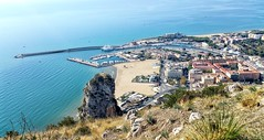 Terracina Port & Seaside (uffagiainuso) Tags: seascapes seaside seaport sea porto port beautifulview bestview mare mareitalia landscape blu spiaggia beachshot beach beaches sunandbeach topview rooftop cityscape cityview cityexplorer citybreak pointofview view rock blusea blueflag bandierablu