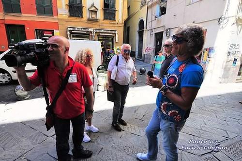 Rock Up 🔊 #rockup 📷 di enrico ghigino ] ; ) ::\☮/>> http://www.elettrisonanti.net/galleria-fotografica #barberocarlo #pietroscioni #viadelcampo 🎻 #genovasuperba #musica  #sottosuolo 🎥#elettritv📲💻 #rock :g