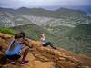 Koko crater stairs summit (MiguelVP) Tags: kokohead hiking kokocrater trail views girls hairdo golfcourse gardens