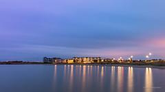 Cape Helius (karindebruin) Tags: nederland thenetherlands zuidholland voorneputten hellevoetsluis haringvliet vesting capehelius water hotel sunrise zonsopkomst