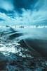 Waves and icebergs (ceeko) Tags: 2017 diskobay fujifilmx100f greenland ilulissat cirrus clouds iceberg sea waves qaasuitsupkommune