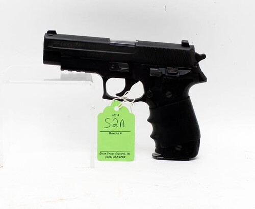Sig Sauer Model P226 40 cal. Semi-Automatic Pistol w/ Case ($504.00)