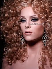 Karen Kristopher (dashndazzle) Tags: dashndazzle mannequin makeup glass eyes karen kristopher