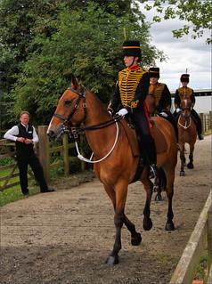The Royal Horse Artillery Ride In