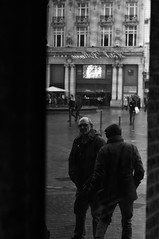 CHD_6607 (theoetxe) Tags: bw bnw blackandwhite lille portrait street city france outdoor reflect reflection