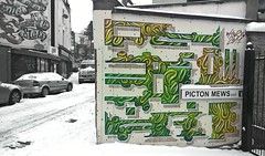 Bristol Snow Day, March 2018 (Lee Byway) Tags: bristol snow snowday winter cold ice photography photo graffiti graffitiart streetart urbanart pictonstreet montpelier pictonmews