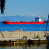 DSC02014 (omirou56) Tags: 11 sonydschx60v sea sky mountains red blue outdoor aigio hellas reflection